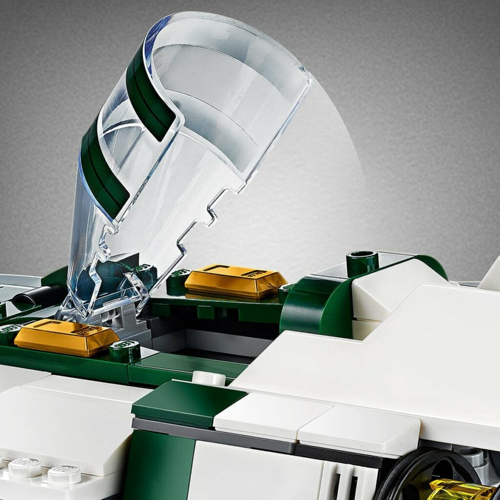 LEGO Star Wars 75248 Resistance A-Wing Starfighter detail