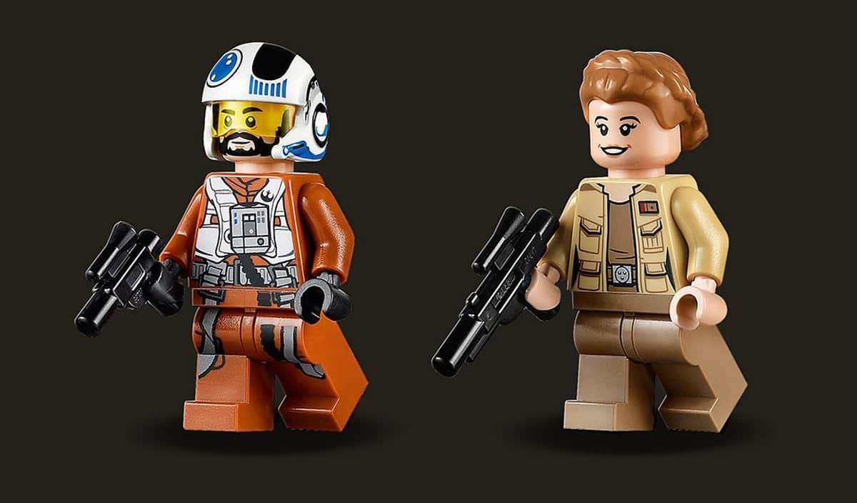 LEGO Star Wars 75248 Resistance A-Wing Starfighter mini figures