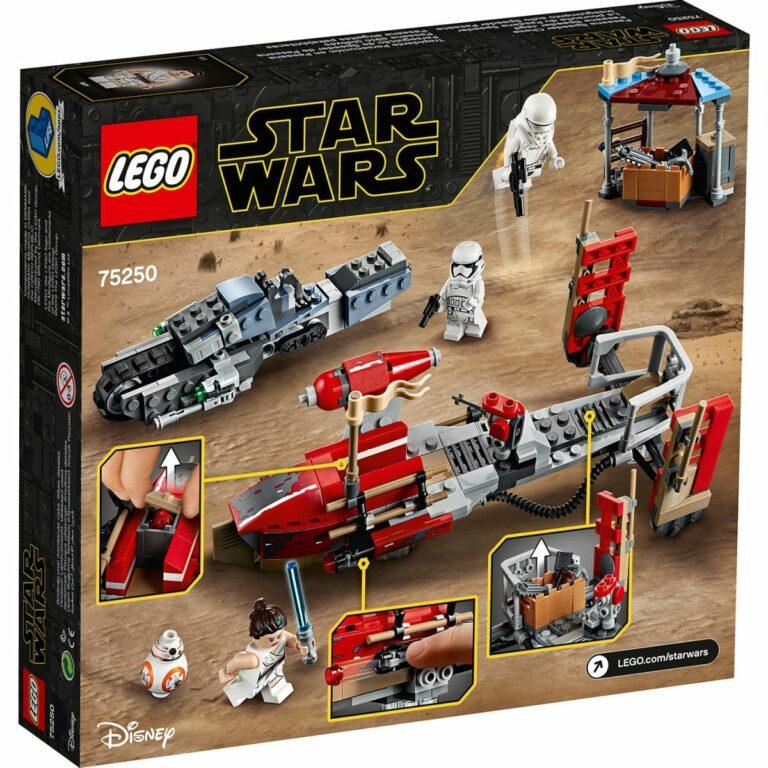 LEGO Star Wars 75250 Pasaana Speeder Chase box