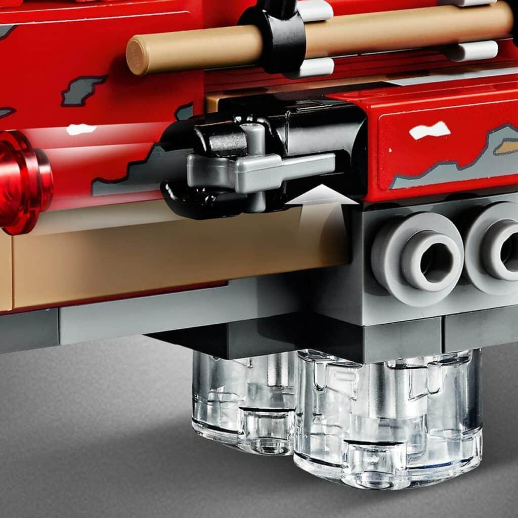 LEGO Star Wars 75250 Pasaana Speeder Chase detail