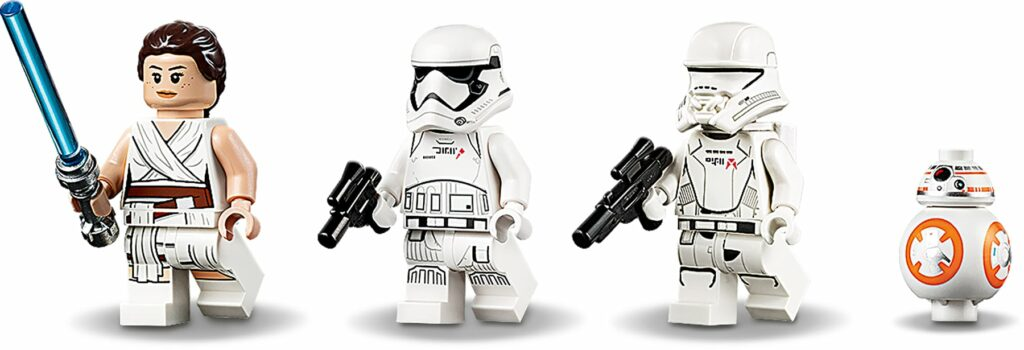 LEGO Star Wars 75250 Pasaana Speeder Chase mini-figures