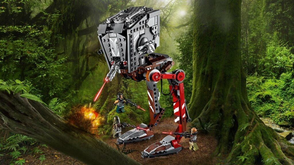 LEGO Star Wars 75254 AT-ST Raider- The Mandalorian