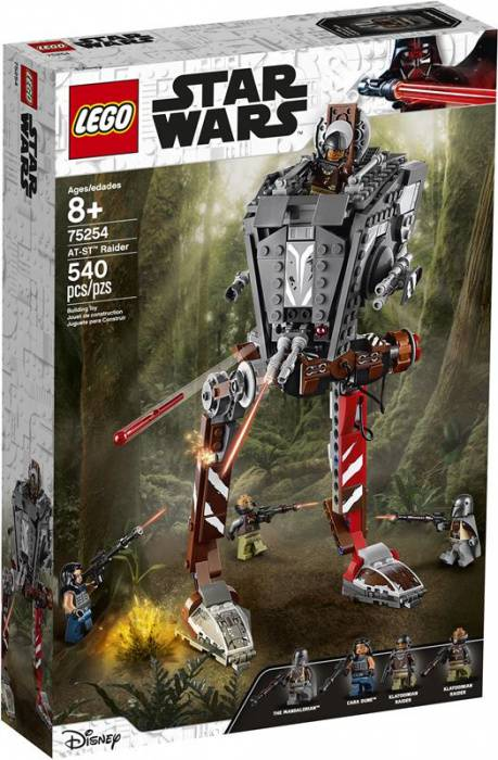 LEGO Star Wars 75254 AT-ST Raider- The Mandalorian box 1