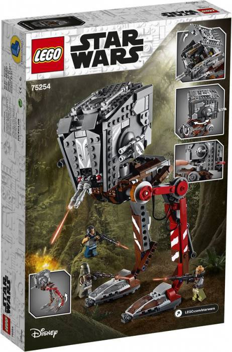 LEGO Star Wars 75254 AT-ST Raider- The Mandalorian box 2