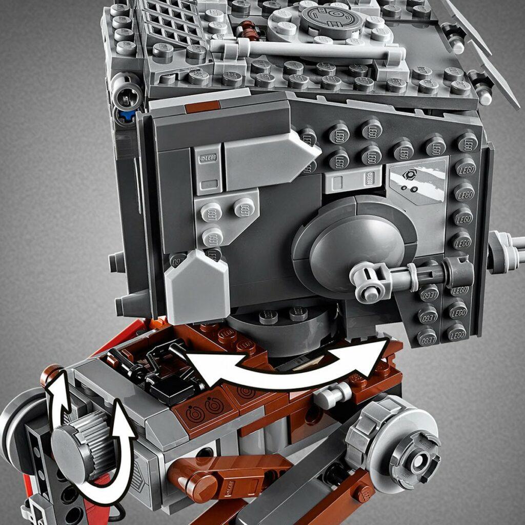 LEGO Star Wars 75254 AT-ST Raider- The Mandalorian detail 1