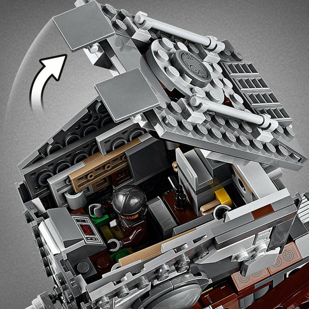 LEGO Star Wars 75254 AT-ST Raider- The Mandalorian detail 2