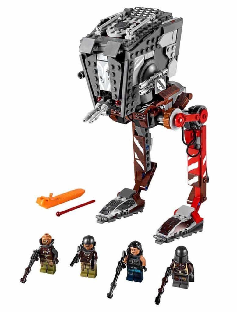 LEGO Star Wars 75254 AT-ST Raider- The Mandalorian set 1