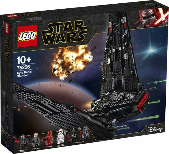 LEGO Star Wars 75256 Kylo Ren's Shuttle box