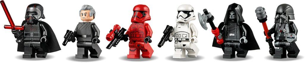 LEGO Star Wars 75256 Kylo Ren's Shuttle mini-figures