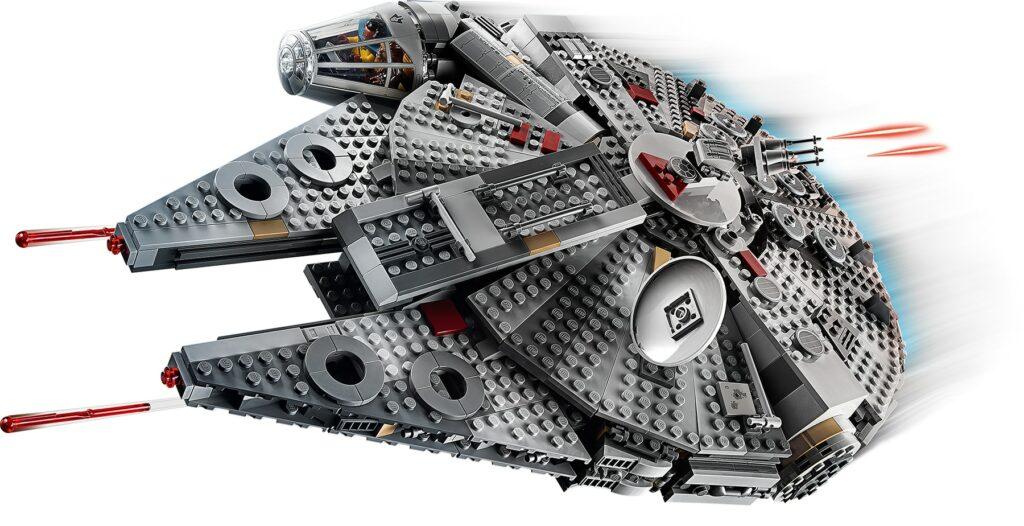 LEGO Star Wars 75257 Millennium Falcon in action
