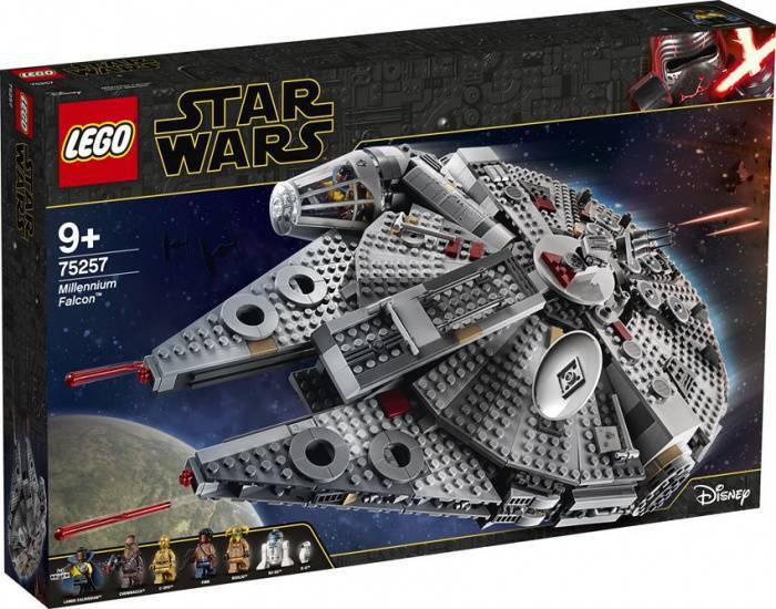 LEGO Star Wars 75257 Millennium Falcon box