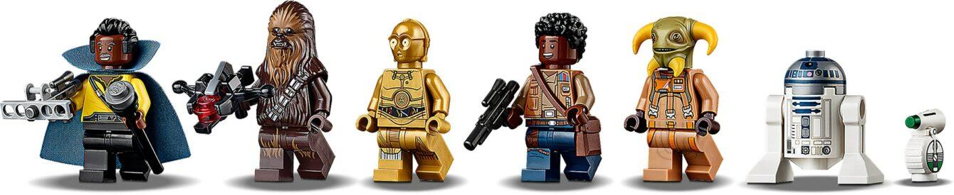 LEGO Star Wars 75257 Millennium Falcon mini-figures