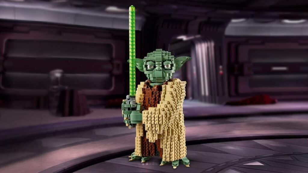 LEGO Star Wars Attack of The Clones Yoda 75255