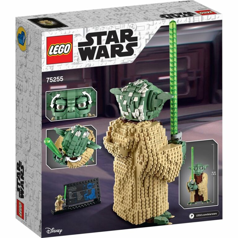LEGO Star Wars Attack of The Clones Yoda 75255 box 2