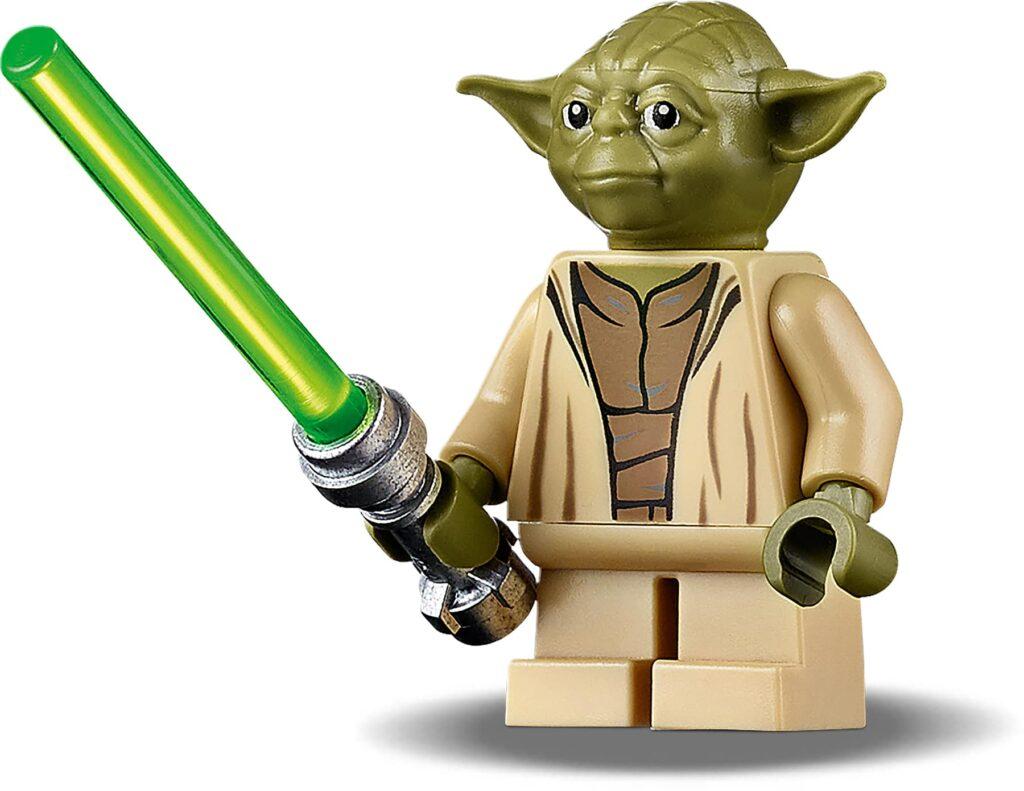 LEGO Star Wars Attack of The Clones Yoda 75255 mini figure