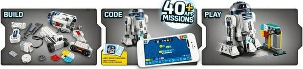 LEGO Star Wars Boost Droid Commander instructions