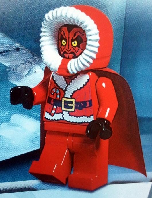 Lego Star Wars Advent Calendar 2012 (9509) Maul Santa