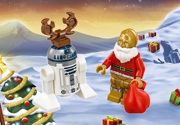 Lego Star Wars Advent Calendar 2016 (75097) mini-figuress c3po r2d2