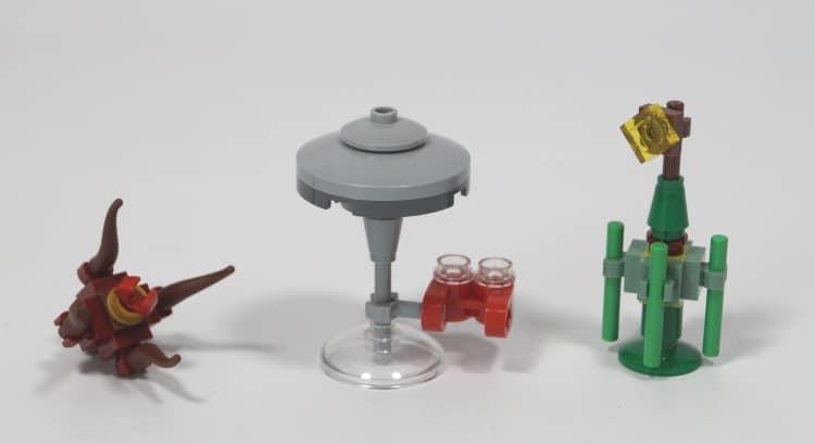Lego Star Wars Advent Calendar 2018 (75213) mini models