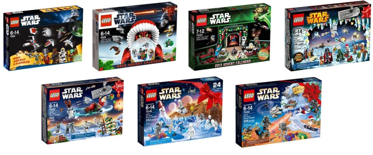 All Star Wars Advent Calendars