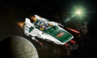 lego star wars 75248 resistance a wing fighter play