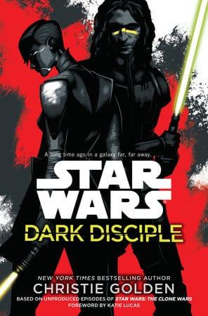 Star Wars Dark Disciple book cover
