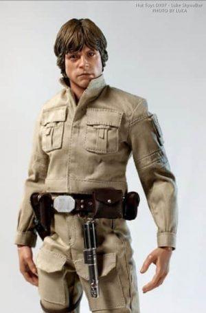 DX07 Luke Skywalker Action Figure from Sideshow